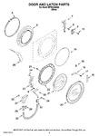 Diagram for 02 - Door And Latch Parts