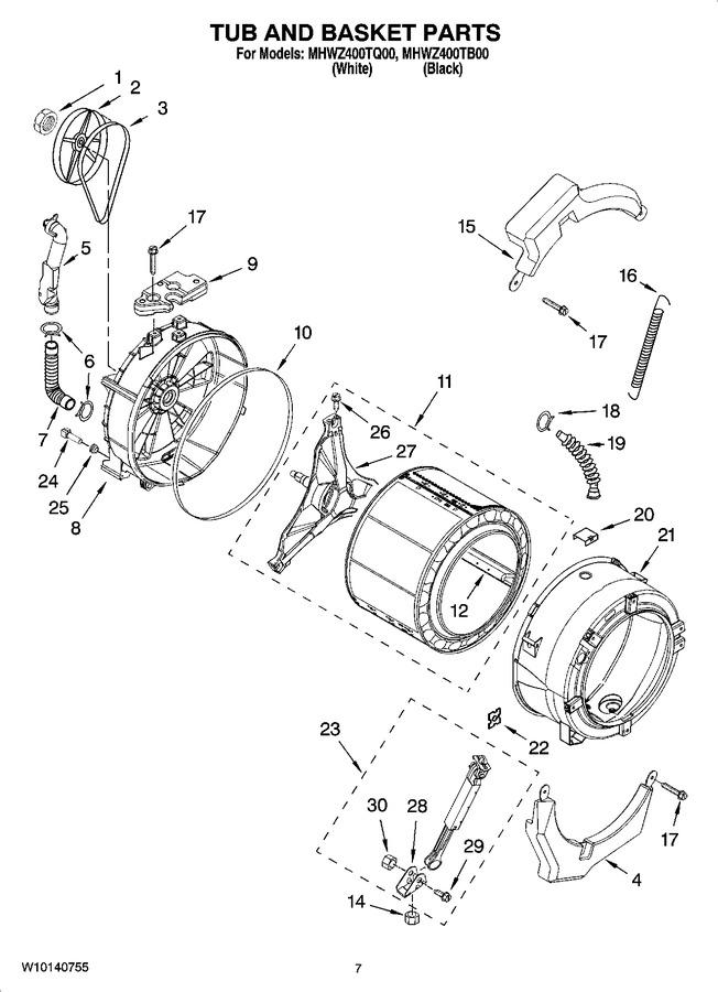 Diagram for MHWZ400TQ00