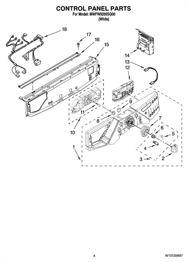 Diagram for MWFW9200SQ00