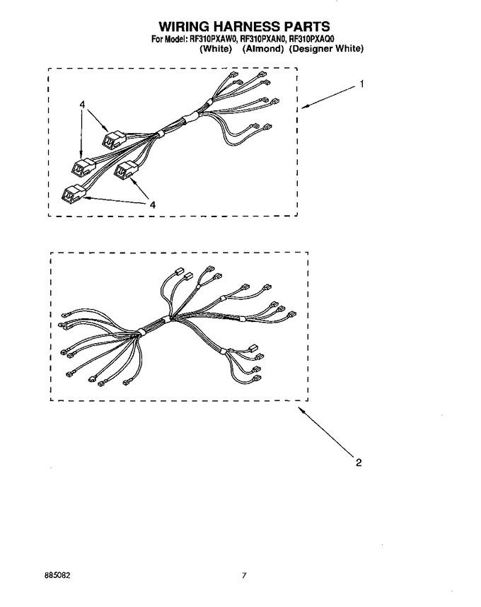 Diagram for RF310PXAW0