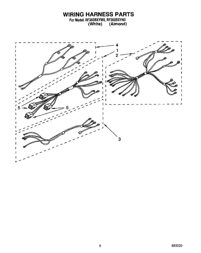 Diagram for RF360BXYW0