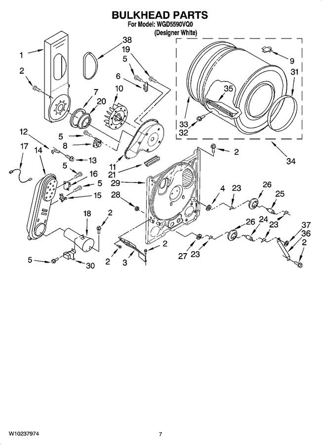 Diagram for WGD5590VQ0