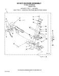 Diagram for 03 - 8318272 Burner Assembly