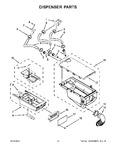 Diagram for 08 - Dispenser Parts