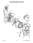 Diagram for 09 - Tub And Basket Parts