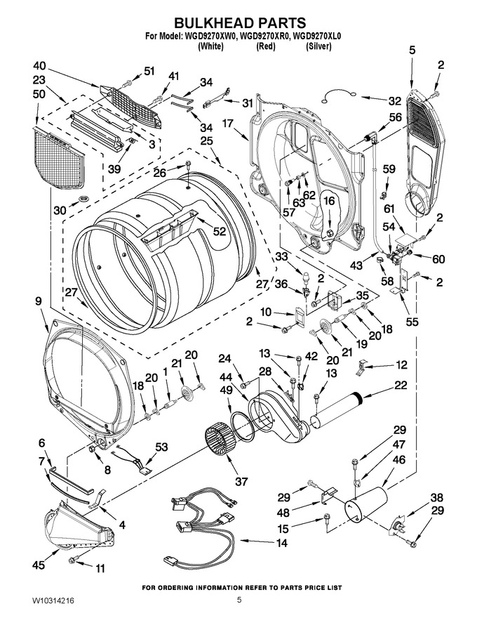 Diagram for WGD9270XR0