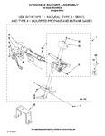 Diagram for 03 - W10336852 Burner Assembly