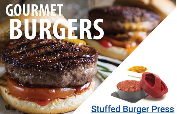 Gourmet Burgers - Stuffed Burger Press
