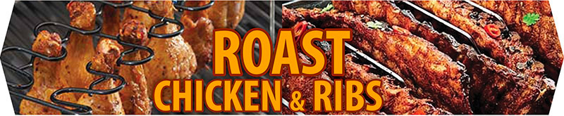 BBQ Rotisserie and Roasting Accessories