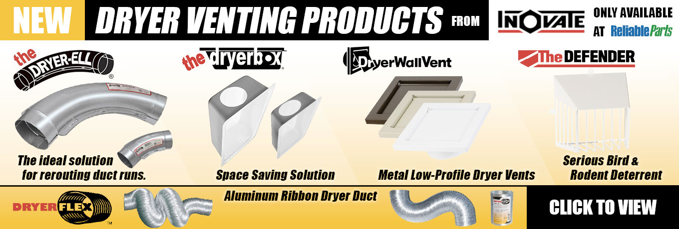 NEW Dryer Venting Products