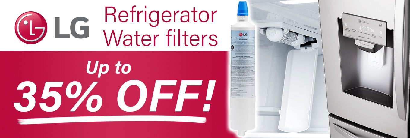 LG Refrigerator Water Filters - Up to 35% Off