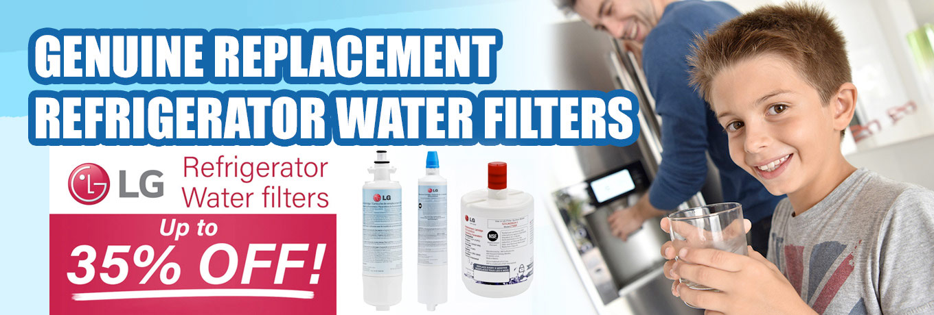 Genuine Replacement Refrigerator Water Filters