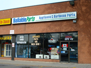 Ontario Appliance Parts Store Locations | Reliable Parts