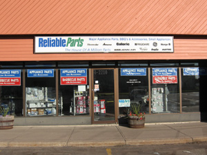 Saskatchewan Appliance Parts Store Locations Reliable Parts