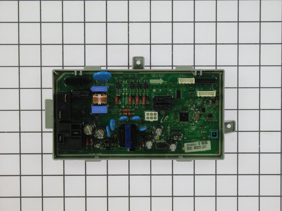 DC92-00322E Samsung Dryer Main PCB Electronic Control Board