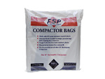"15"" White Whirlpool Compactor Bags"