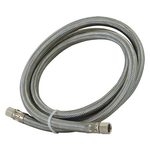 6' Stainless Steel Ice Maker Supply Line